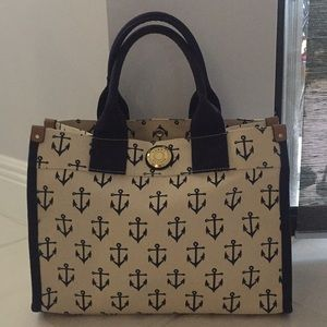 Tommy Hilfiger Canvas anchor purse